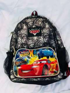 (NEGOTIABLE!) Lightning McQueen backpack
