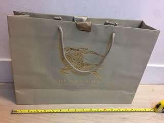 Burberry 紙袋