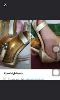 High heels by xoxo
