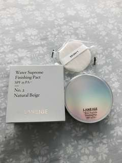 BN Laneige Water Supreme Finishing Pact SPF25 PA++