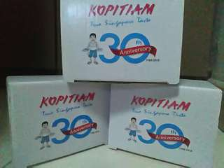 Limited edition kopitiam 30 anniversary cup