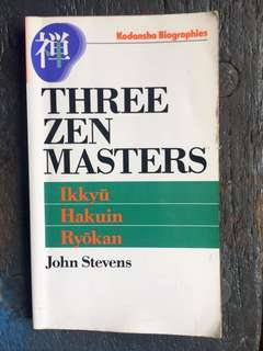 Three Zen Masters