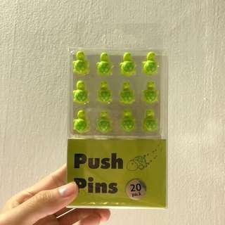 Set of 20 Push Pins