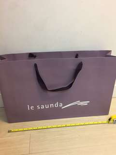 Le Saunda紙袋