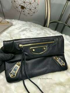 Balenciaga Clutch Black