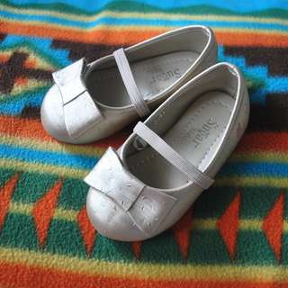 Light Gold Toddler Shoes / Slip-On