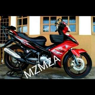 YAMAHA LC 135 SPOTRIM ORI Y15 V2 CONVERT V3 ORI MOTOR