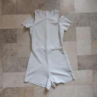 Zara white romper