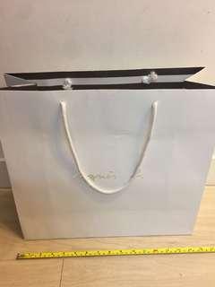 Agnes b 紙袋