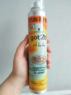 Got2b styling oil 50%