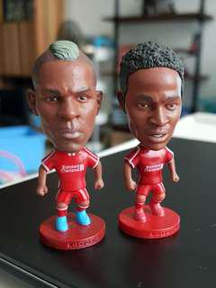 Liverpool Figurines Sterling & Balotelli