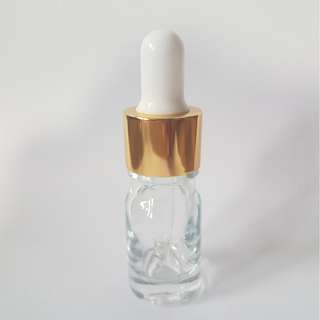 🚚 ⭐️Buy 10 Free 1 ⭐️ 5ml dropper white tip with gold cap