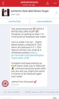 HIGHLY RATED SELLER!!! Thank you