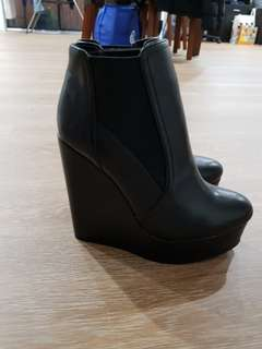 Tony Bianco wedge boots