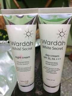 Wardah white secret day & night cream