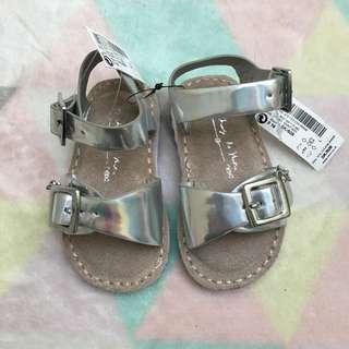 NEXT Silver Sandals
