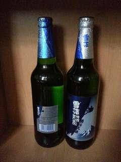 雪花 啤酒 兩大支 (全圖) Snow beer