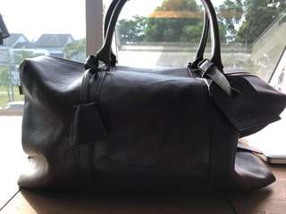 Fully leather bag