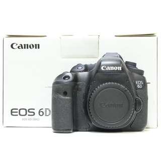 Canon EOS 6D DSLR Body Only (SC 100k+)