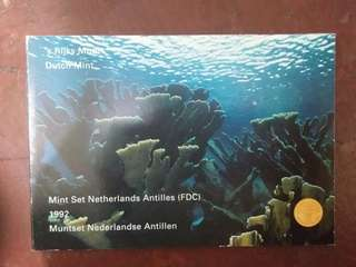 1992 Mint set Netherlands Antilles