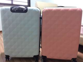 Wts 2 piece for $60 28inch hard case luggage