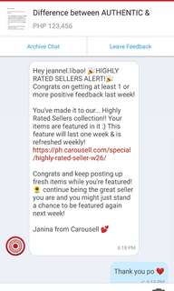 Thanks Carousell! ❤️