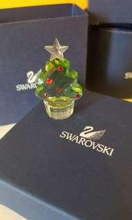 Swarovski 擺設 - 迷你聖誕樹