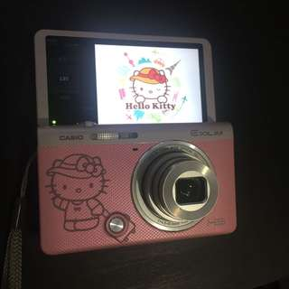 Casio ex-zr55 hello kitty 相機 自拍機