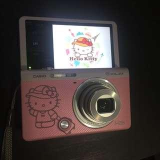 Casio ex-zr55 hello kitty 相機 自拍機