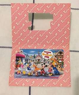 Tokyo Disneyland toontown 電話卡