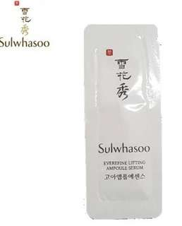 Sulwhasoo serum