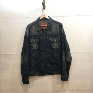日版 LEVIS type2 工裝 拉鍊 牛仔外套