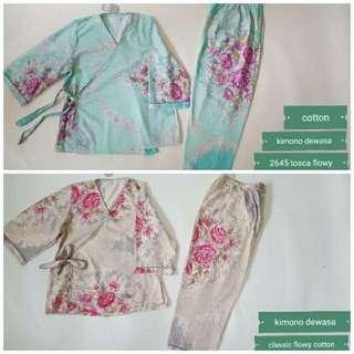 Pijama Kimono Panjang