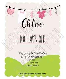 Invitation Card Customisation - 19