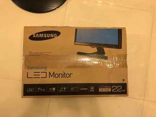"""22"""" 全高清顯示器 型格設計配以纖薄支架 SE390"""