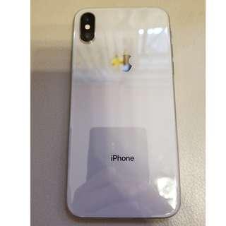 放95% 新 原裝行貨 iPhone X 256 GB 銀色 $7700