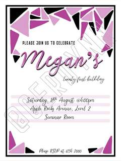 Invitation Card Customisation - 15