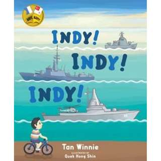 🚚 INDY INDY INDY! Children's books by Singapore Navy for RSN 50 special!