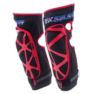 [XNK79鑫騁部品-二手寄賣]EKSELSIOR英爵士軟護膝 紅  全新尺寸 xl