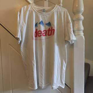 Evian Logo Death T-shirt