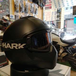 [XNK79鑫騁部品-二手寄賣]法國SHARK vancore 全罩 安全帽 重車教士