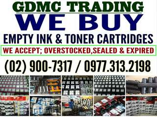 GDMC TRADING_BUYER OF EMPTY INK AND TONER CARTRIDGES