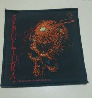 Sepultura Patches (10cm × 10cm)