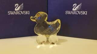 Swarovski 擺設 - 迷你有轆鴨仔