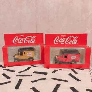 🚨絶版💡Coca Cola 玩具車仔 (黃&紅色)