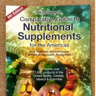 NEW STOCK!!! NUTRISEARCH COMPARATIVE GUIDE 6th Edition