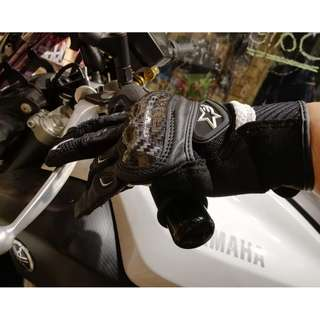 [XNK79鑫騁部品-二手寄賣]女款Alpinestars SMX-2 AIR 碳纖維S號觸控手套