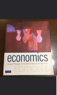 Economics By Douglas McTaggart, Christopher Findlay And Michael Parkin