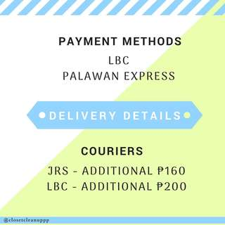Delivery Details (Outside Cebu)
