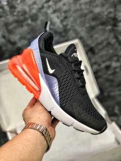 Nike Max 270 網面透氣半掌氣墊跑步鞋
